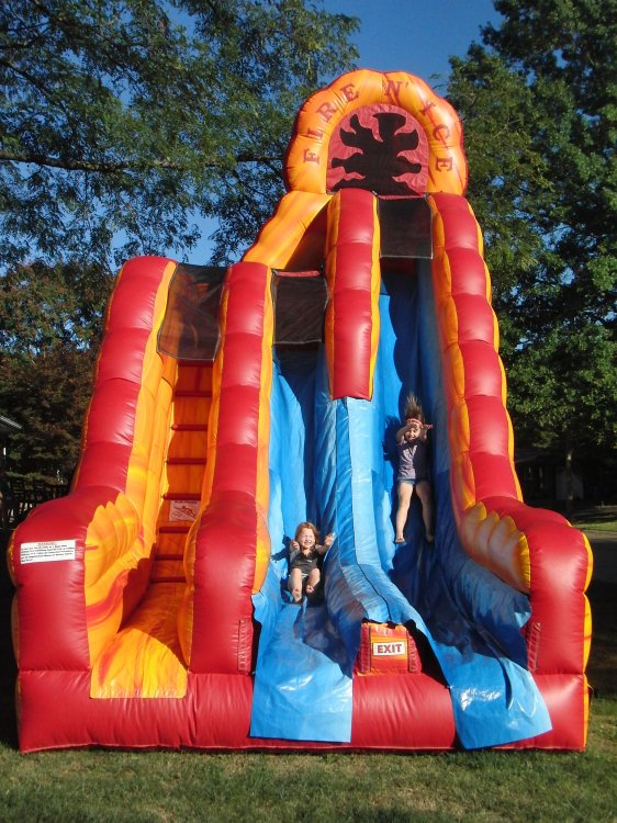 Fire and Ice Slide